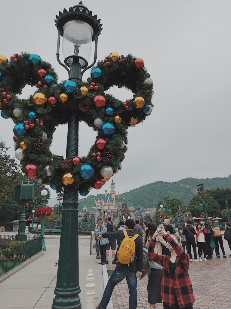 Hong Kong Disney Christmas
