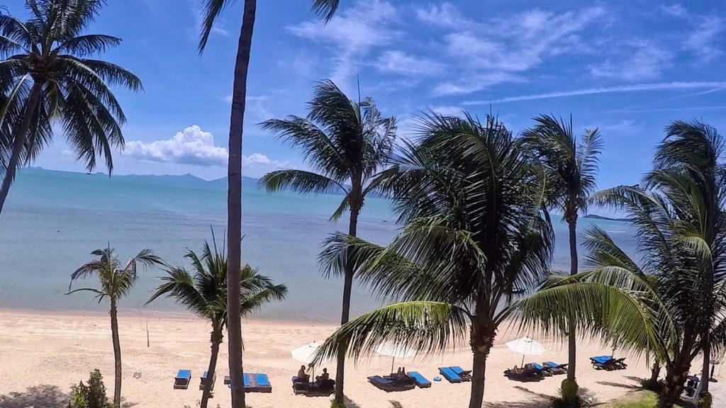Ko Samui Baan Bophut Beach Hotel Room View