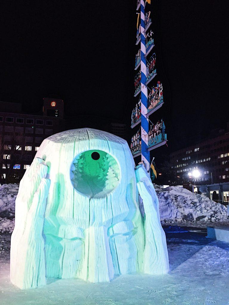 sapporo snow festival hokkaido japan