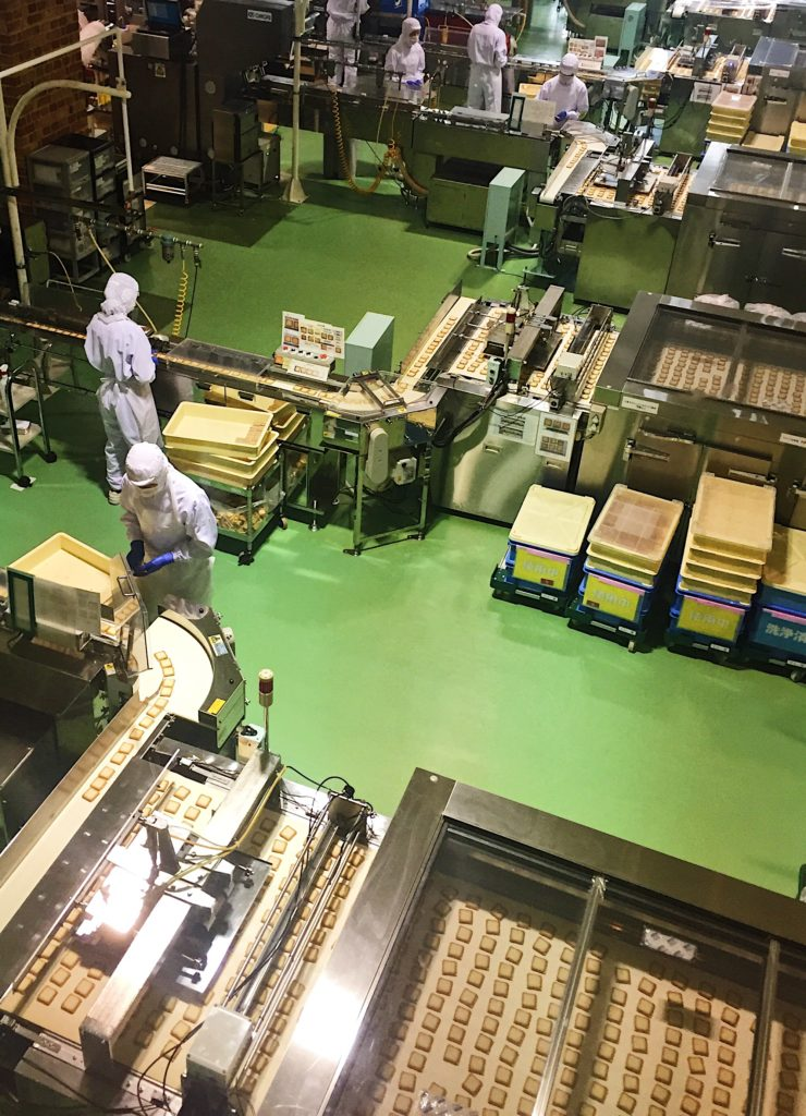 shiroi koibito factory tour