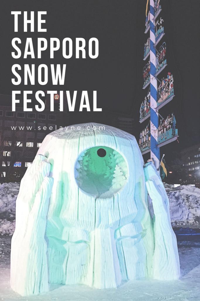 The Sapporo Snow Festival SeeLayne