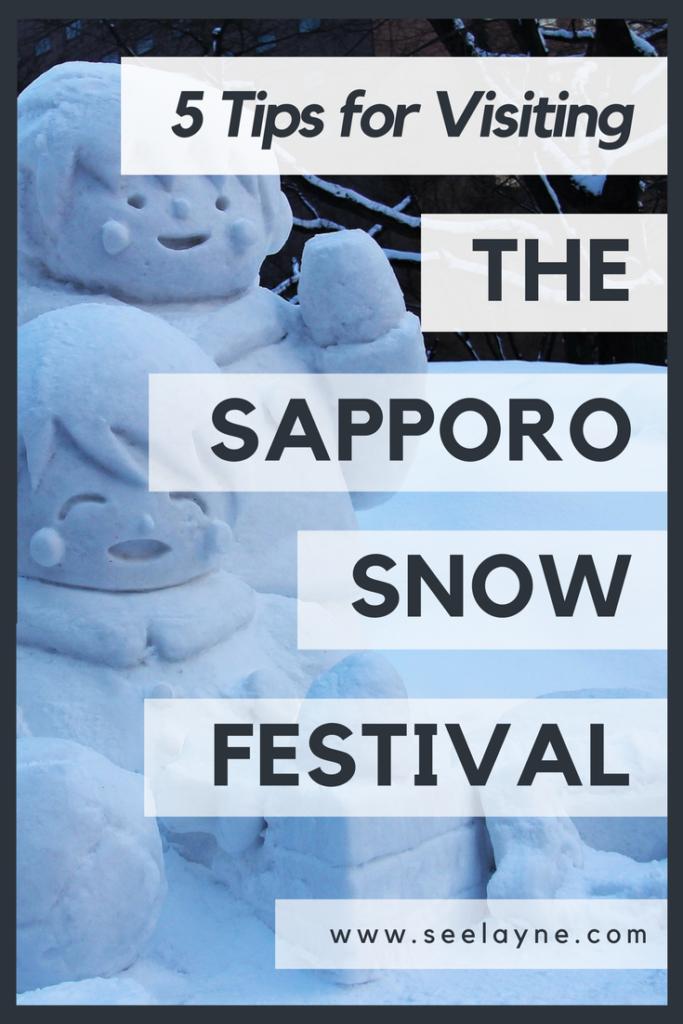 5 tips visit Sapporo snow festival